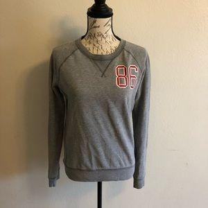 Pink University Gray Sweatshirt Small